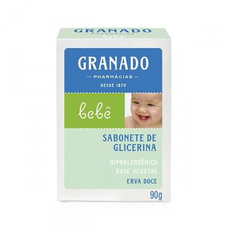 Sabonete de Glicerina Granado Infantil Bebê Erva Doce
