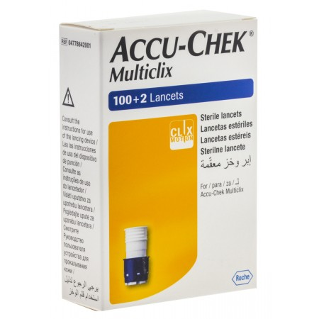 Lancetas Accu-Chek Multiclix