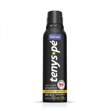 Desodorante para os pés Jato Seco Tenys Pé Sport Edition