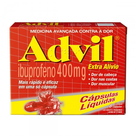 Advil Extra Alívio 400 mg