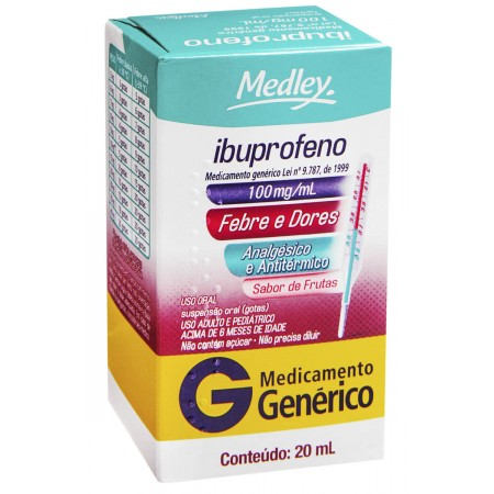 Ibuprofeno infantil em gotas