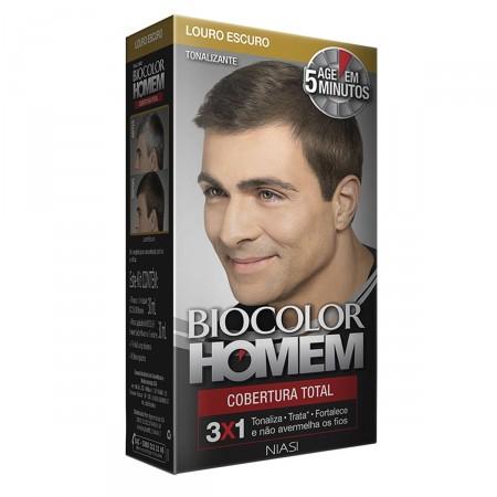 Tonalizante Biocolor Homem Louro Escuro