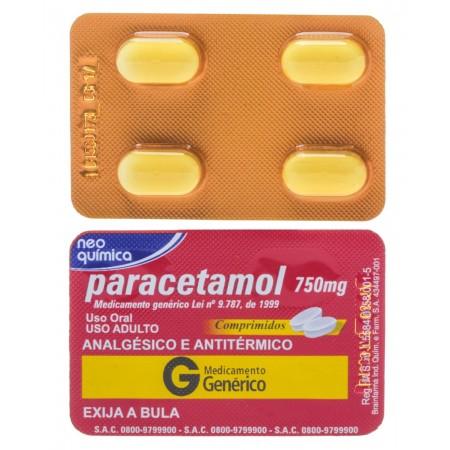 Paracetamol 750mg