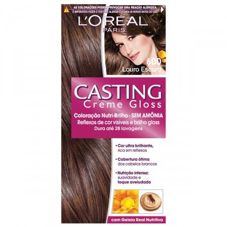 Coloração Permanente Casting Creme Gloss N° 600 Louro Escuro
