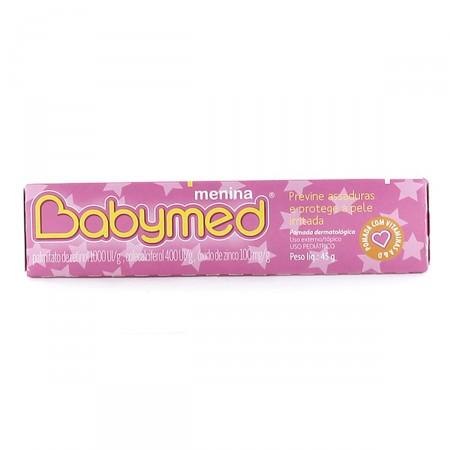 Pomada Prevenção de Assaduras Babymed Menina