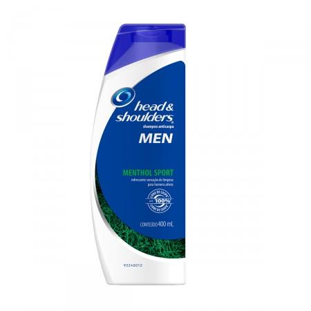 Shampoo Anticaspa Head & Shoulders Men Menthol Sport