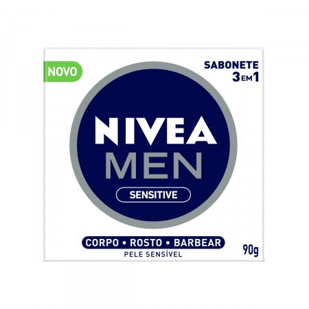 Sabonete Nivea Men Sensitive 3 em 1