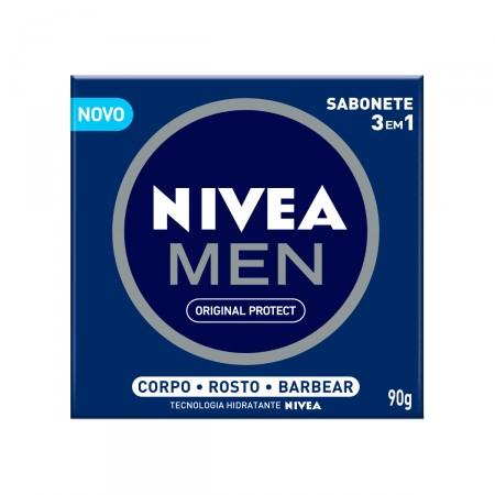 Sabonete Nivea Men Original 3 em 1