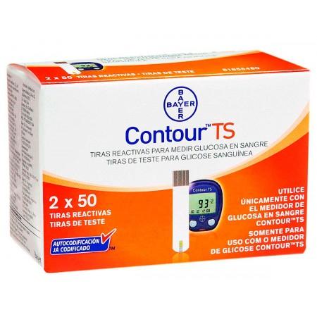 Contour TS Tiras para Controle de Glicemia