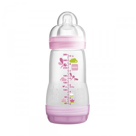 Mamadeira MAM First Bottle Rosa