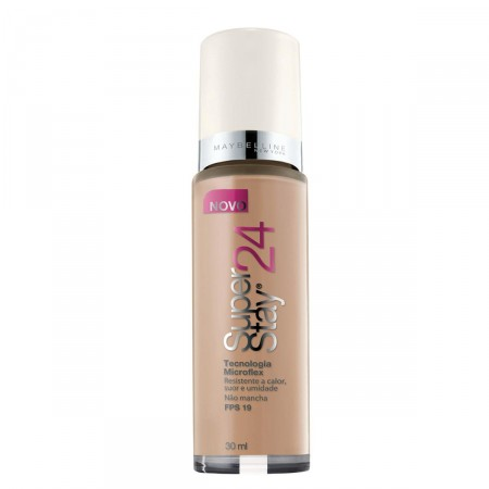 Base SuperStay 24 horas Maybelline Nº100 Honey Beige Medium