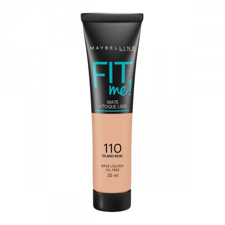 Base Liquida Maybelline Fit Me Nº 110 Claro Real