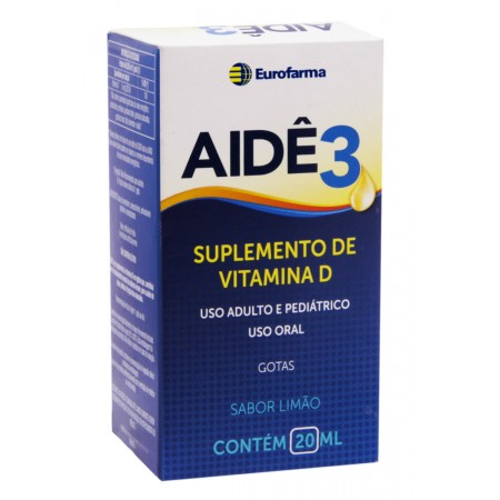 Aidê Suplemento de Vitamina D