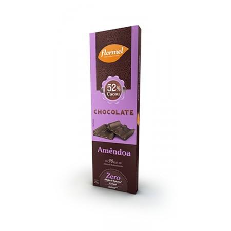 Barra de Chocolate com Amêndoas