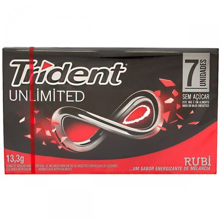Goma de Mascar Trident Unlimited