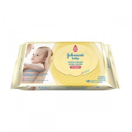 Lenços Umedecidos Johnson's Baby Recém-Nascido