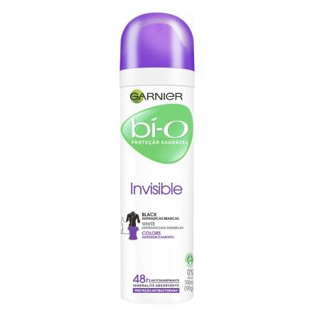 Desodorante Aerosol Bí-O Invisible Black & White Colors