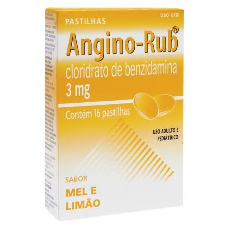 Angino-Rub Mel e Limão