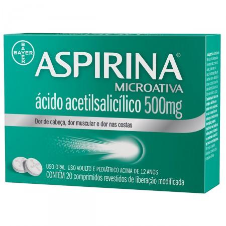 Aspirina Microativa 500mg
