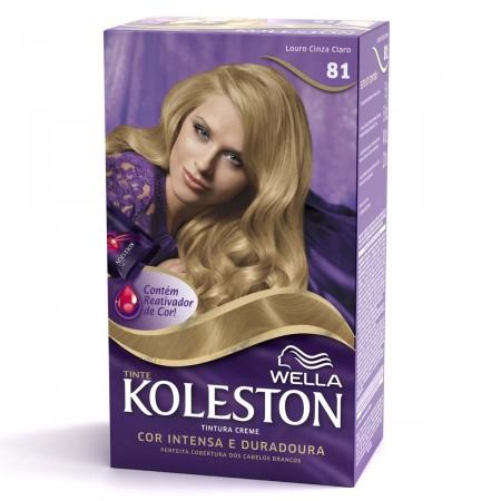 Tintura Creme Koleston Nº81 Louro Cinza