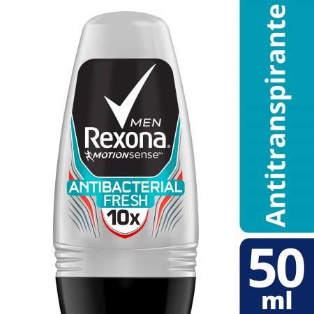 Desodorante Roll on Rexona Men Antibacterial Fresh