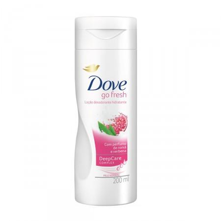 Loção Hidratante Dove Romã e Verbena