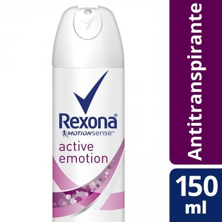 Desodorante Aerosol Rexona Active Emotion