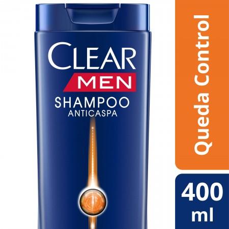 Shampoo Anticaspa Clear Queda Control