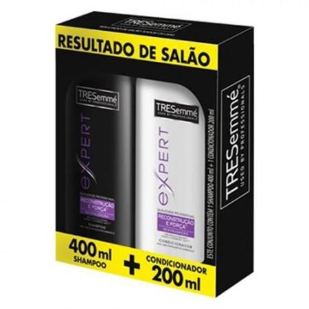 Kit Shampoo + Condicionador Tresemmé Reconstrução e Força