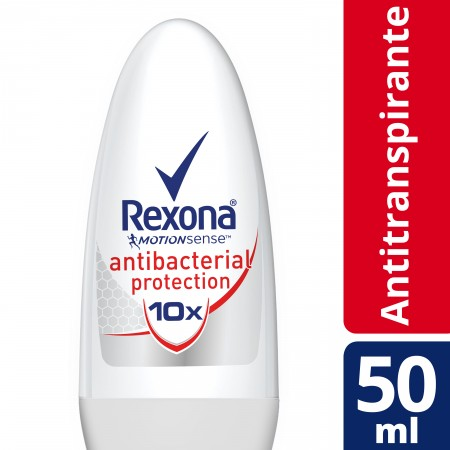 Desodorante Roll On Rexona Antibacterial Protection