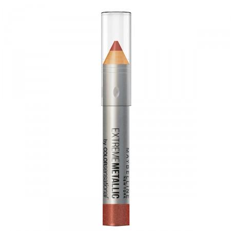 Batom Lápis Maybelline Color Sensational Extreme Metallics Nº90 Cor Deixa Eu Brilhar