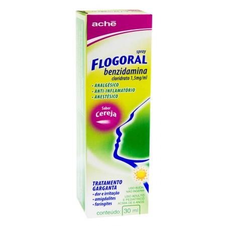 Flogoral Spray Cereja