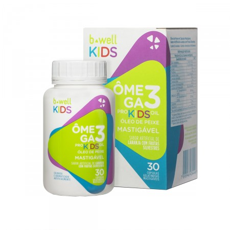 Suplemento Vitaminico B-Well Omega 3 Pro Kids Oil