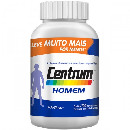 Complexo Vitamínico Homem