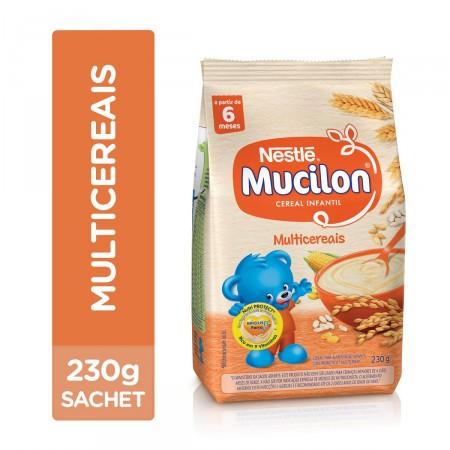 Cereal Infantil Mucilon Multicereais