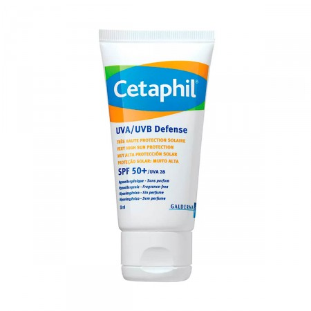 Protetor Solar Cetaphil Defense UVA/UVB FPS50+