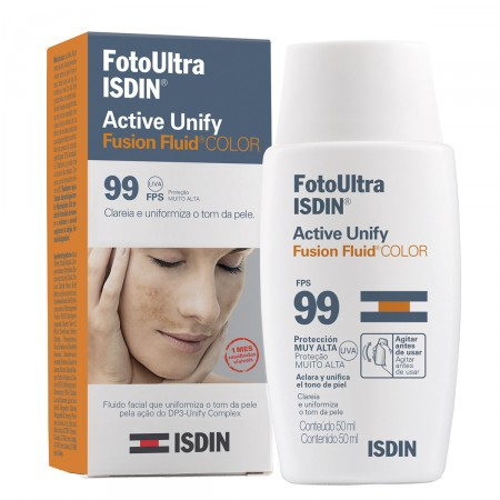 Clareador Facial Isdin Active Unify Color Fluído FPS99