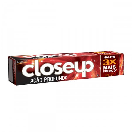 Creme Dental Close Up Ação Profunda Red Vermelho