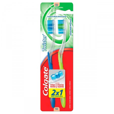 Escova Dental Colgate Twister Macia