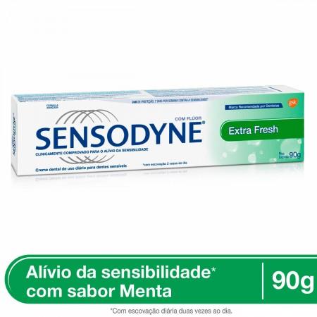 Creme Dental Sensodyne Extra Fresh Para Dentes Sensíveis