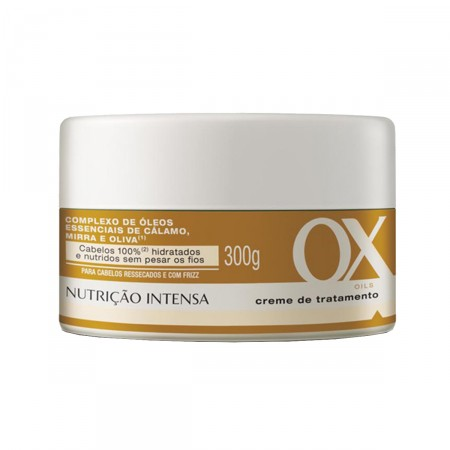 Creme de Tratamento Nutrição Intensa Ox Oils