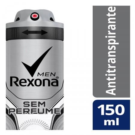 Desodorante Aerosol Rexona Men Sem Perfume
