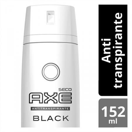Desodorante Antitranspirante Aerosol AXE Black