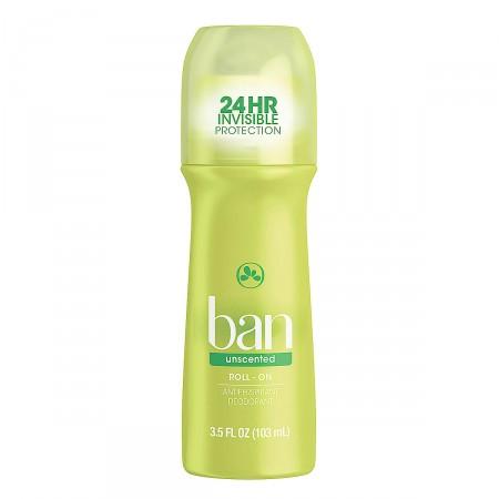Desodorante Roll-on Ban Unscented Sem Perfume