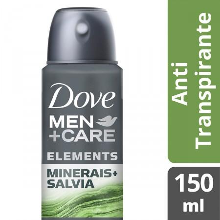 Desodorante Aerosol Dove Minerales + Sálvia