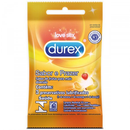 Preservativo Sabores e Prazer