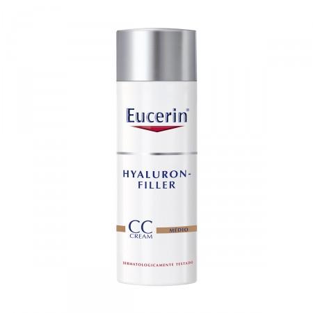 CC Cream Eucerin Hyaluron Filler Médio