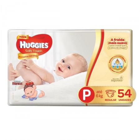 Fralda Huggies Soft Touch Tamanho P