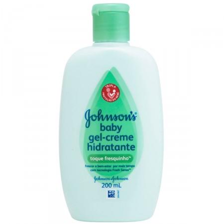 Gel-Creme Hidratante Infantil Johnson's Baby Toque Fresquinho