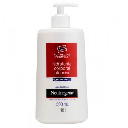 Hidratante Corporal Neutrogena Norwegian Formula Intensivo com fragrância